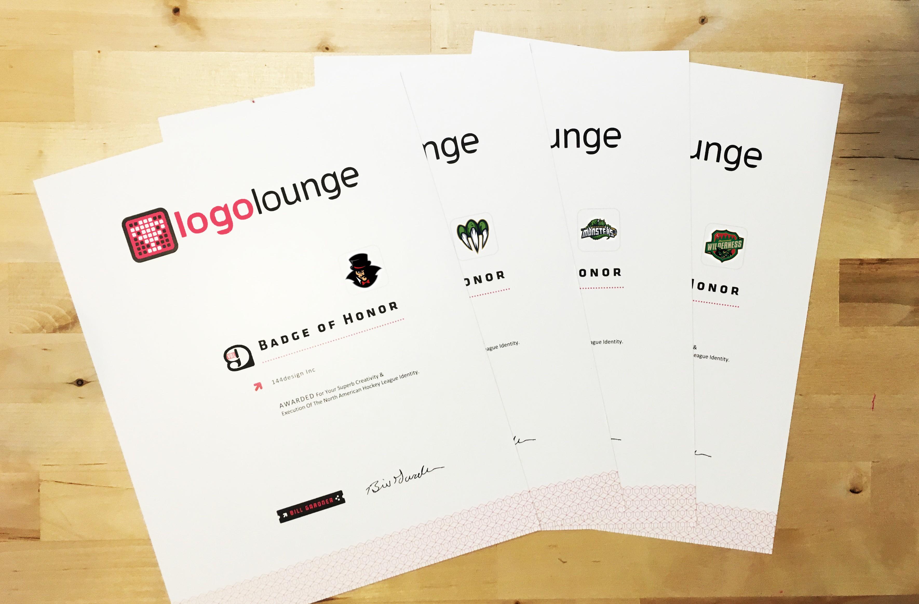 Logo lounge Awards